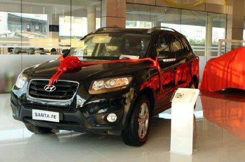 Xe Hyundai Santafe máy dầu 2012 6