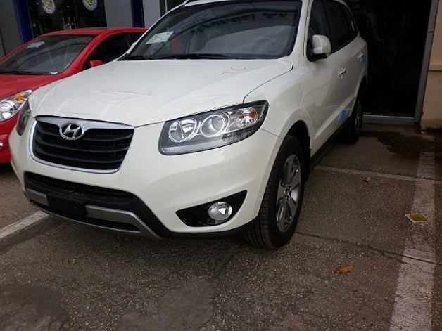 Xe Hyundai Santafe máy dầu 2012 4