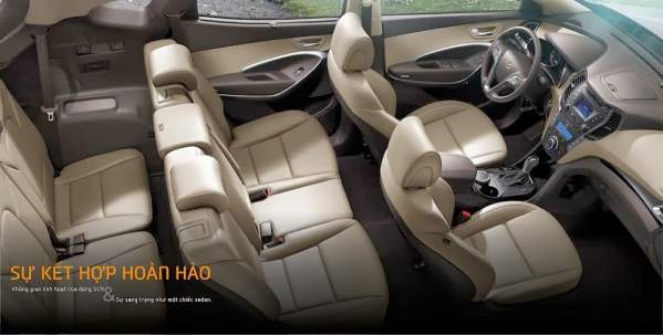 Xe Hyundai Santafe máy dầu 2014 11