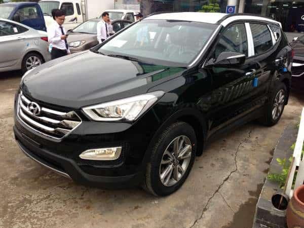 Xe Hyundai Santafe máy dầu 2014 16