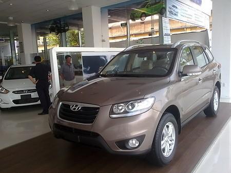 Xe Hyundai Santafe máy dầu 2012 5