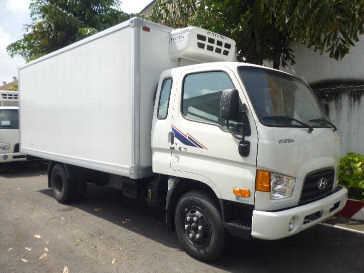 Xe tải hyundai 3,5 tấn hd72 thùng đông lạnh 24