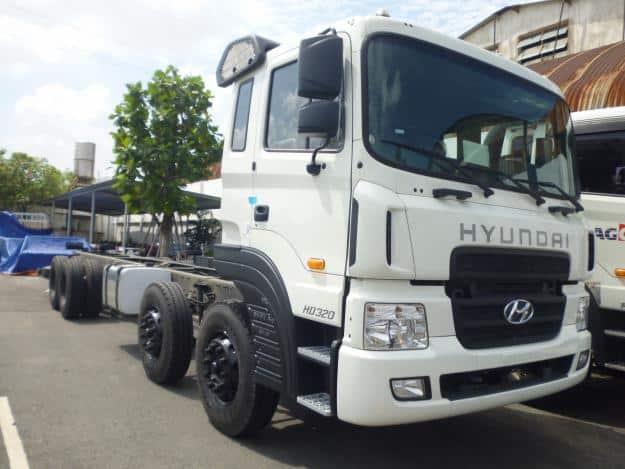 Xe tải hyundai 19 tấn hd320 7