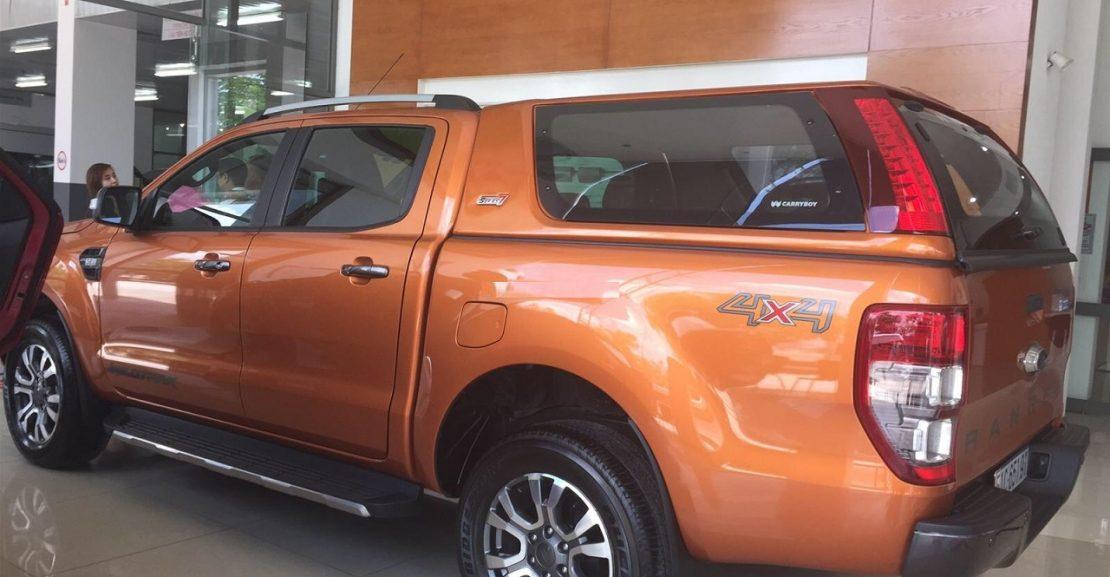 Phụ kiện Nắp thùng Ford Ranger nhập khẩu thái lan chính hãng 21