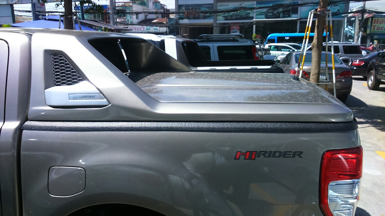 Phụ kiện Nắp thùng Ford Ranger nhập khẩu thái lan chính hãng 28