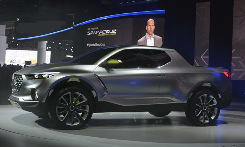 Xe hyundai bán tải Santa Cruz Concept 16