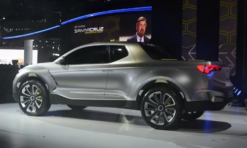 Xe hyundai bán tải Santa Cruz Concept 18