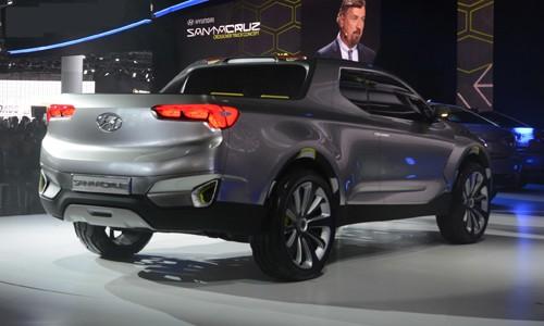 Xe hyundai bán tải Santa Cruz Concept 12