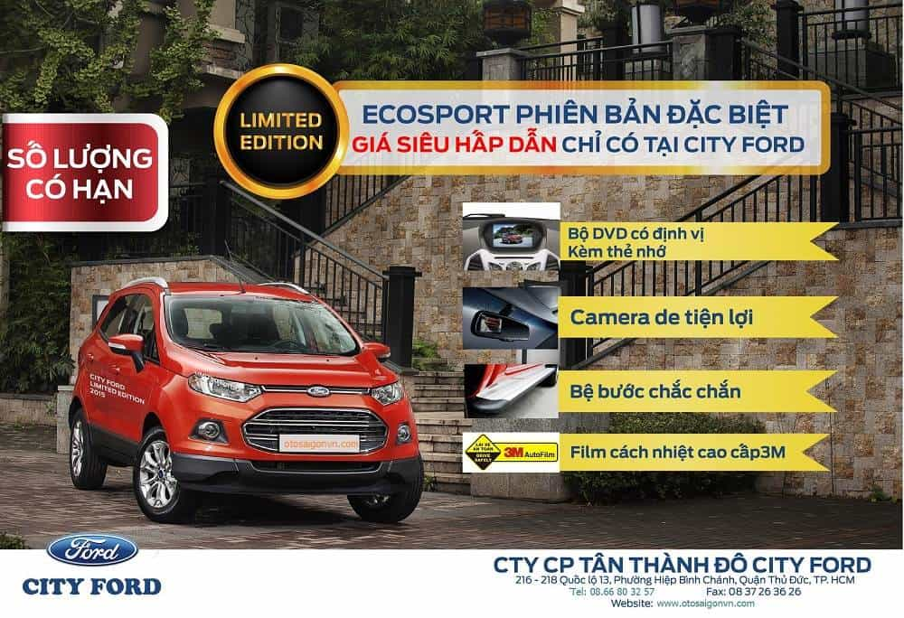 All-new Ford EcoSport.