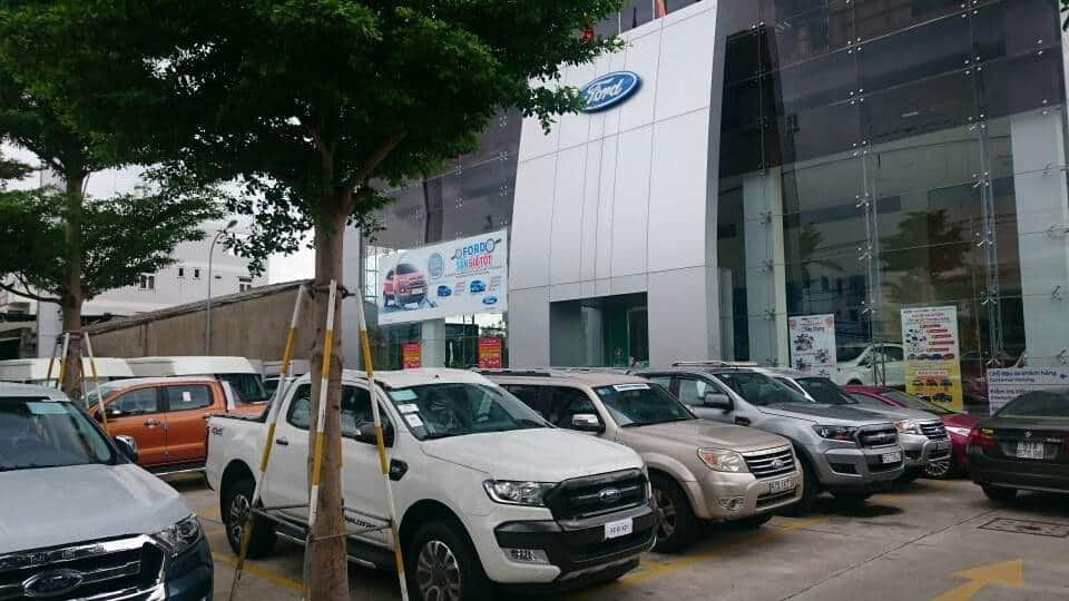 city ford auto Xe Ford Everest 3.2 Titanium 2016