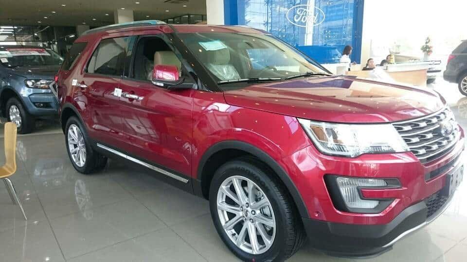 xe ford explorer 2017 7 1 Giá ford explorer 2017 Giá bán xe ford 7 chỗ SUV nhập khẩu chính hãng tại việt nam