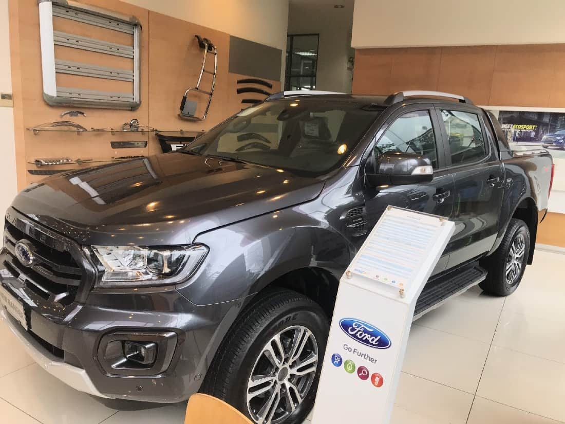 Xe Ford Ranger Wildtrack 2.0L 4x4 AT 2 cầu 46
