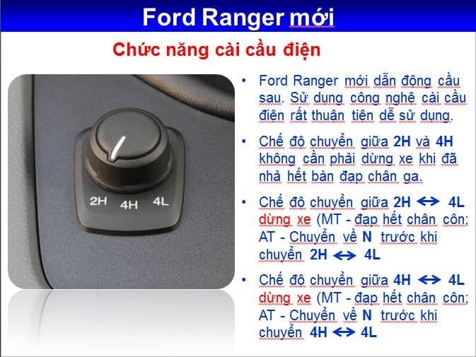 Xe Ford Ranger Wildtrack 2.0L 4x4 AT 2 cầu 30
