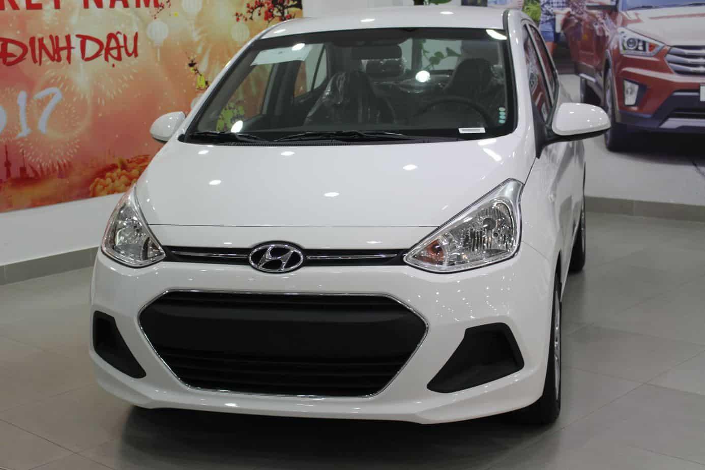 Giá xe hyundai i10 2017 bản số sàn và số tự động 7