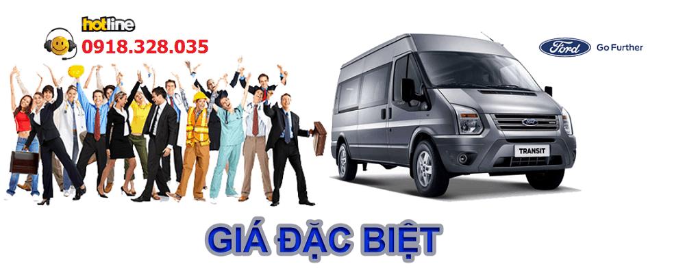 bang gia xe ford transit 2017