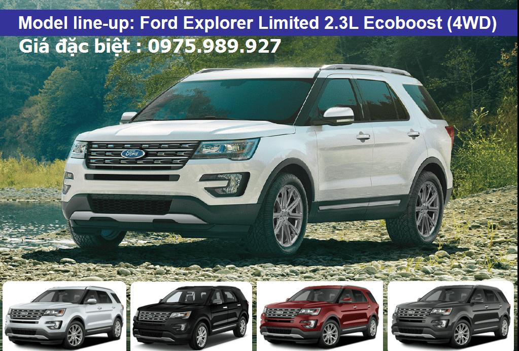 gia xe ford explorer 2017