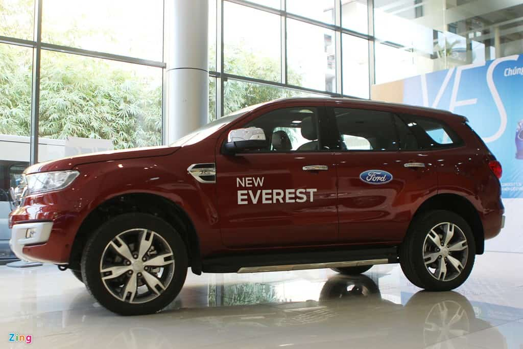 xe ford everest 2017