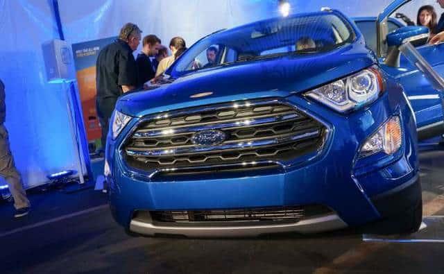 Hình ảnh thực tế Ford Ecosport 2018 ra mắt tại Mỹ