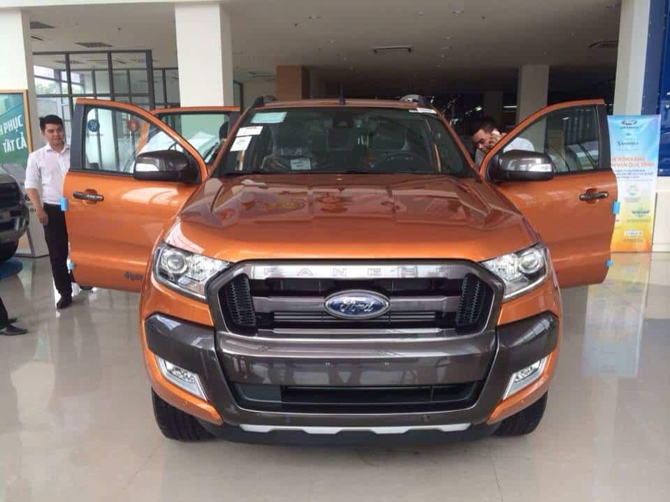 Xe Ford ranger 2017 hoàn toàn mới