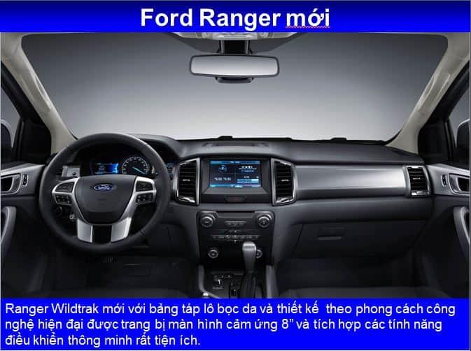 xe ford ranger 2016 - 2