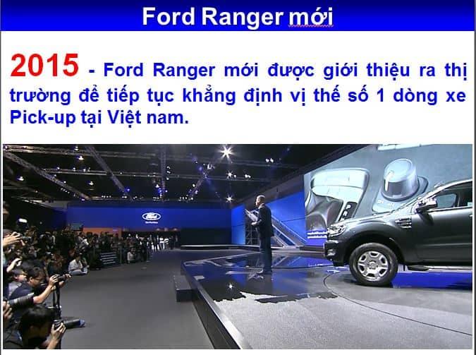 Ford Ranger 2018 mới bán tải tại Việt Nam giá hấp dẫn tại City Ford 15
