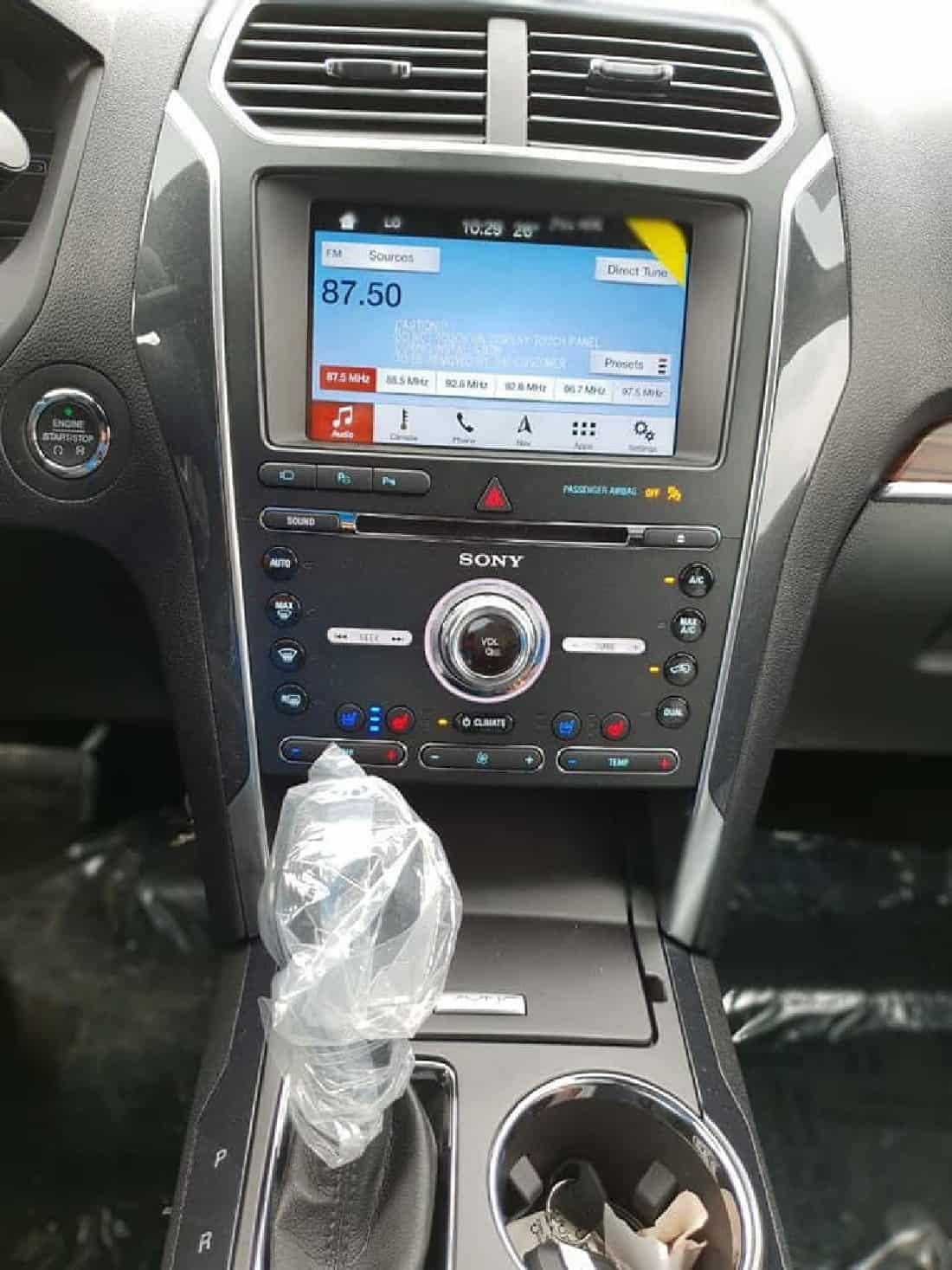 xe ford explorer 2019 2
