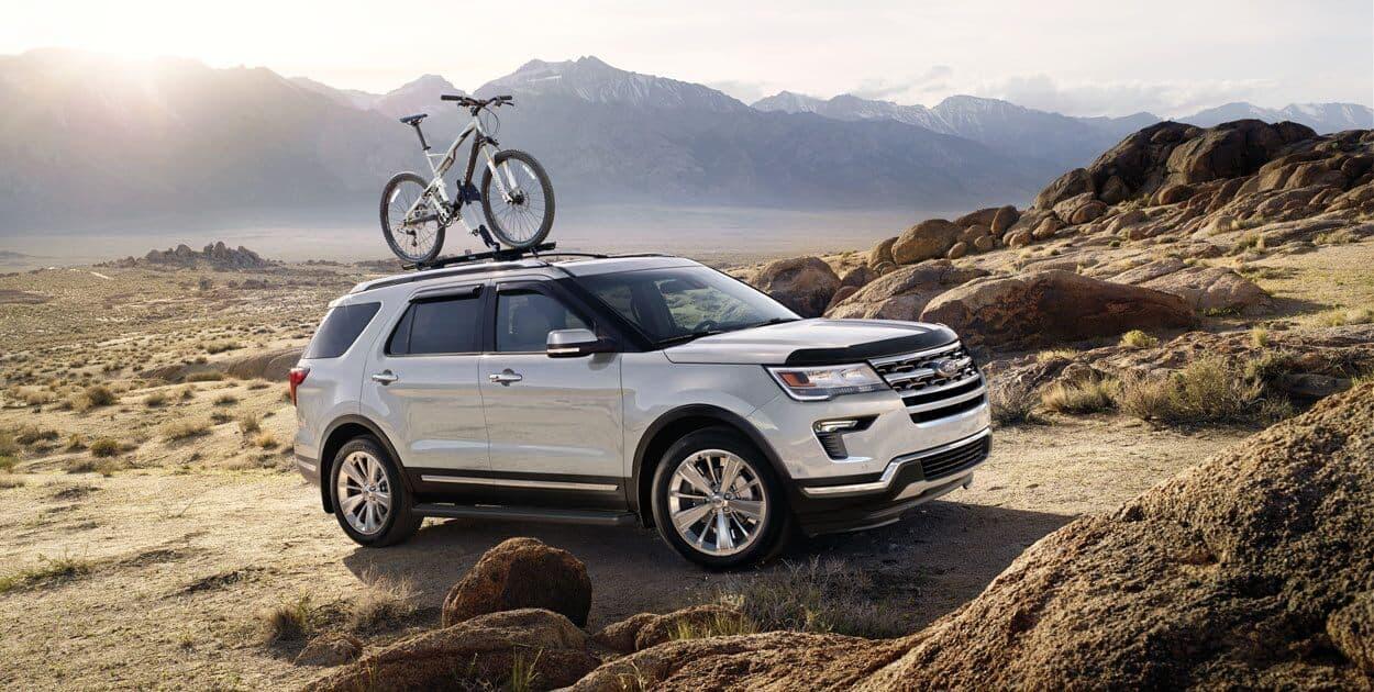 xe ford explorer 2019 baner trang chu