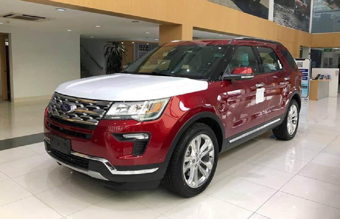 xe ford explorer 2019 mau do