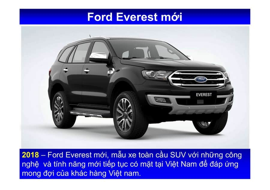 Xe Ford Everest 2019 mới 70