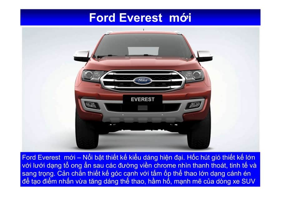 Xe Ford Everest 2019 mới 72