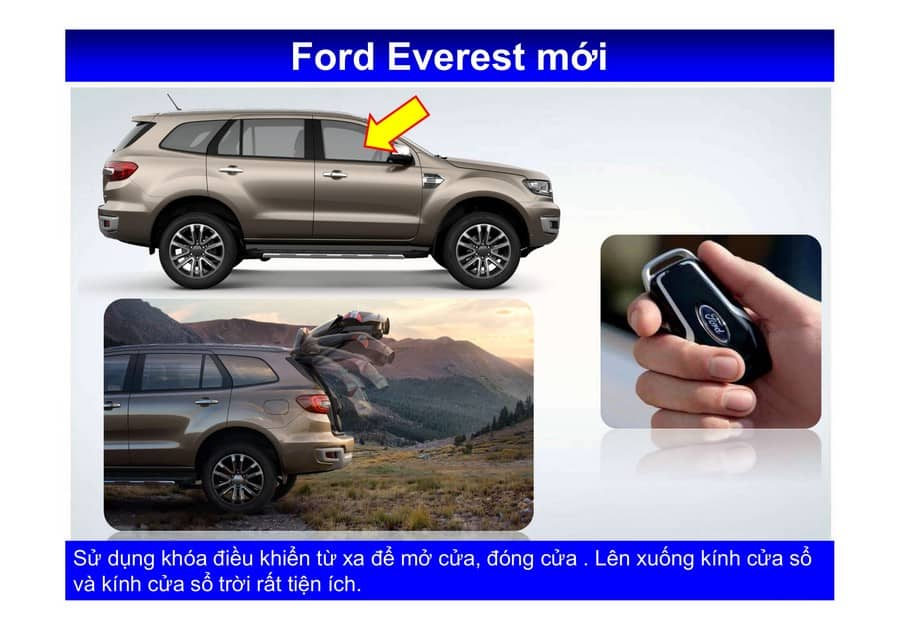 Xe Ford Everest 2019 mới 93