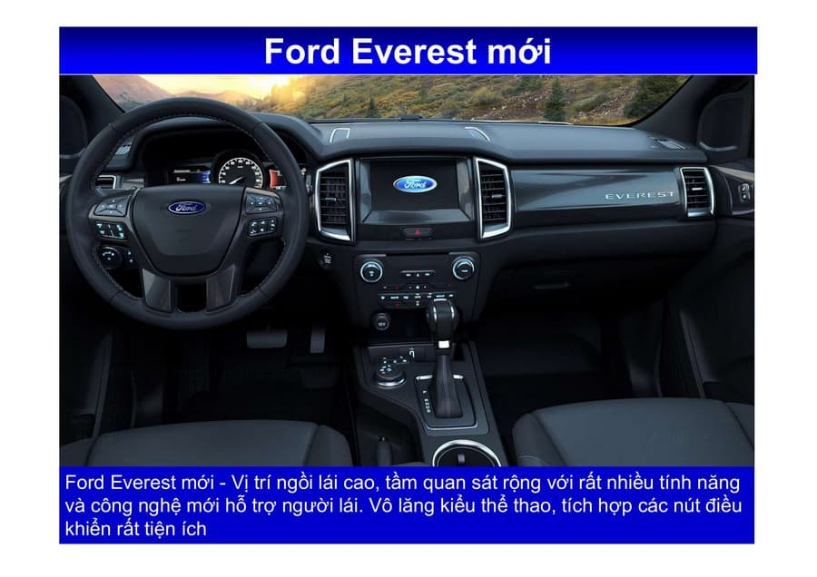 Xe Ford Everest 2019 mới 94
