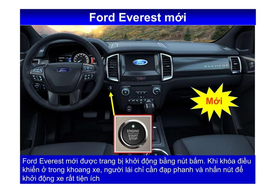 Xe Ford Everest 2019 mới 95