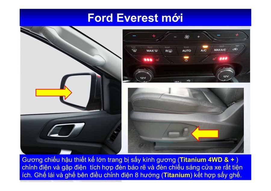 Xe Ford Everest 2019 mới 96