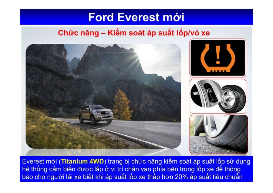 Xe Ford Everest 2019 mới 109