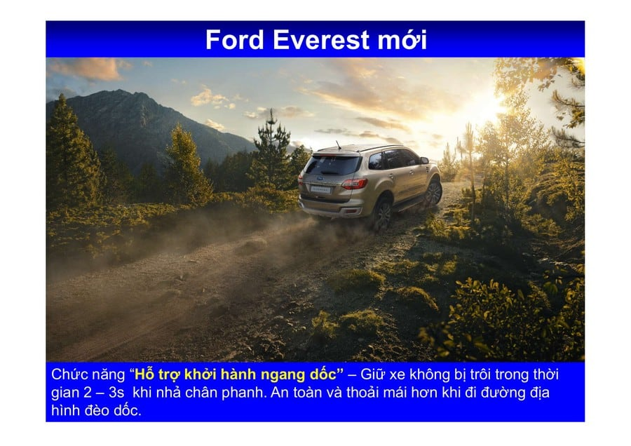 Xe Ford Everest 2019 mới 114