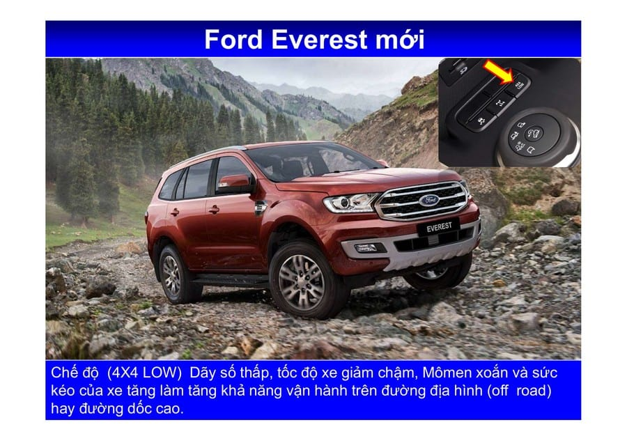 Xe Ford Everest 2019 mới 117
