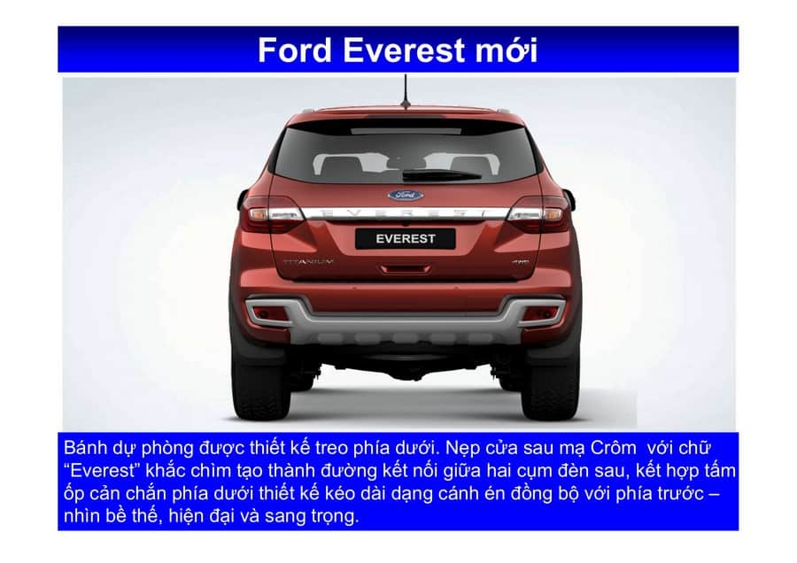 Xe Ford Everest 2019 mới 124
