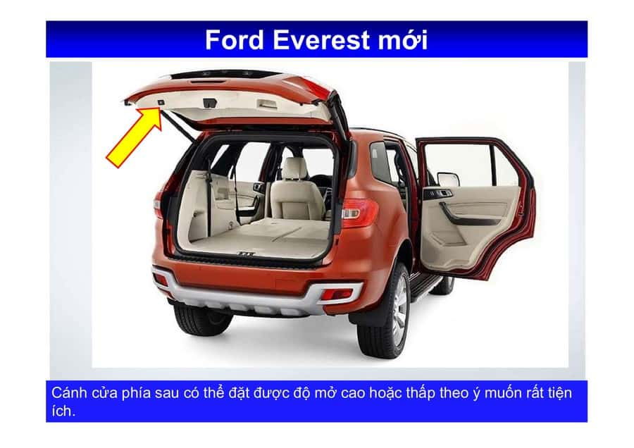Xe Ford Everest 2019 mới 128