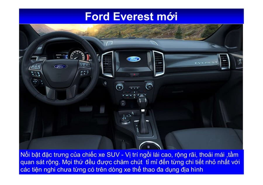 Xe Ford Everest 2019 mới 139