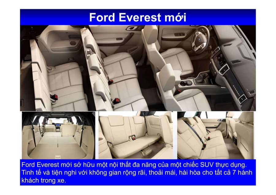 Xe Ford Everest 2019 mới 140
