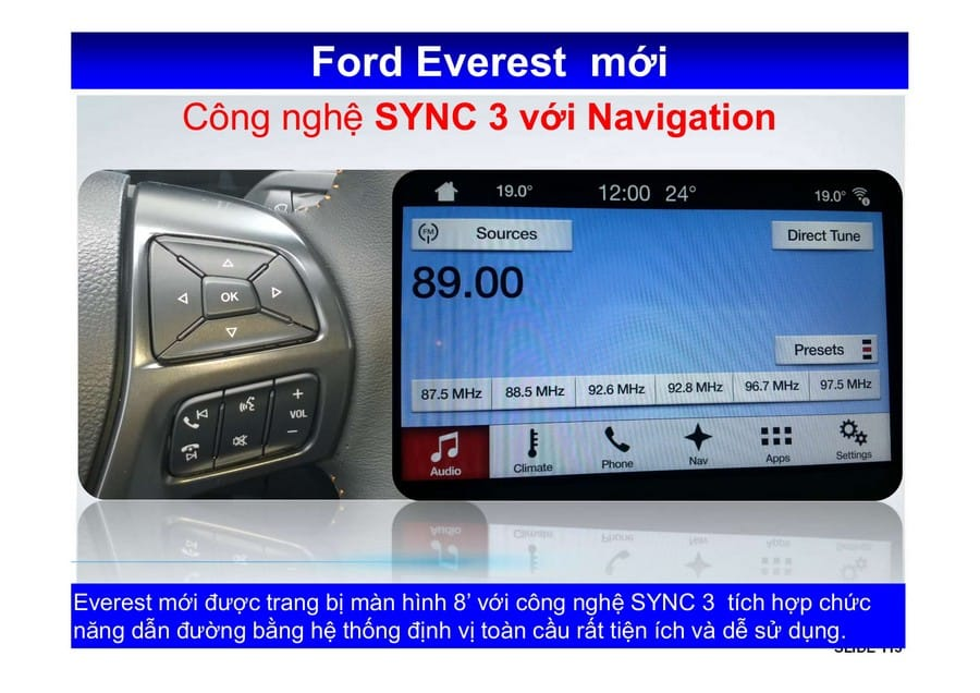 Xe Ford Everest 2019 mới 142