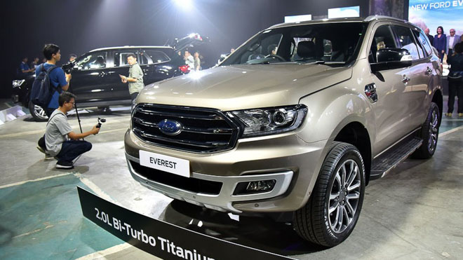 Xe Ford Everest 2019 mới 162