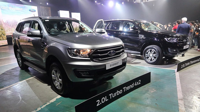 xe ford everest 20l turbo trend 2019
