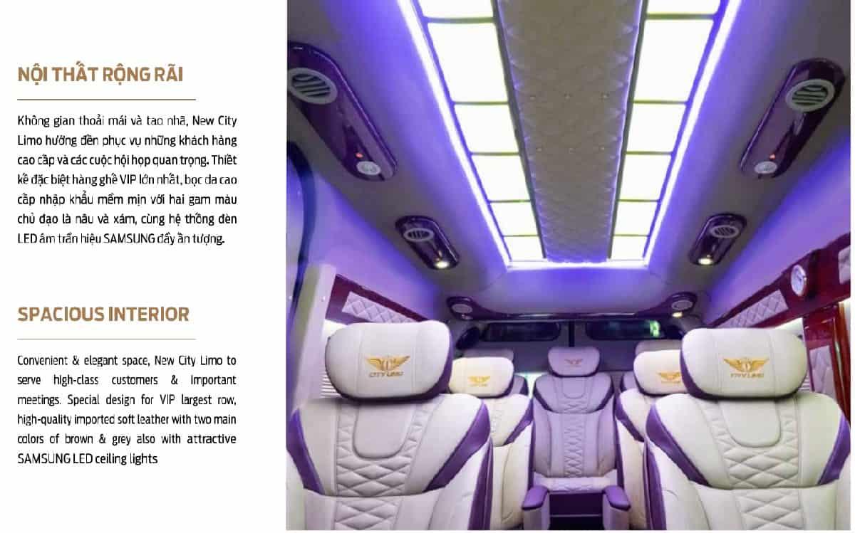 Xe Ford Transit 10 chỗ City Limousine cao cấp kèm giá bán hấp dẫn 28