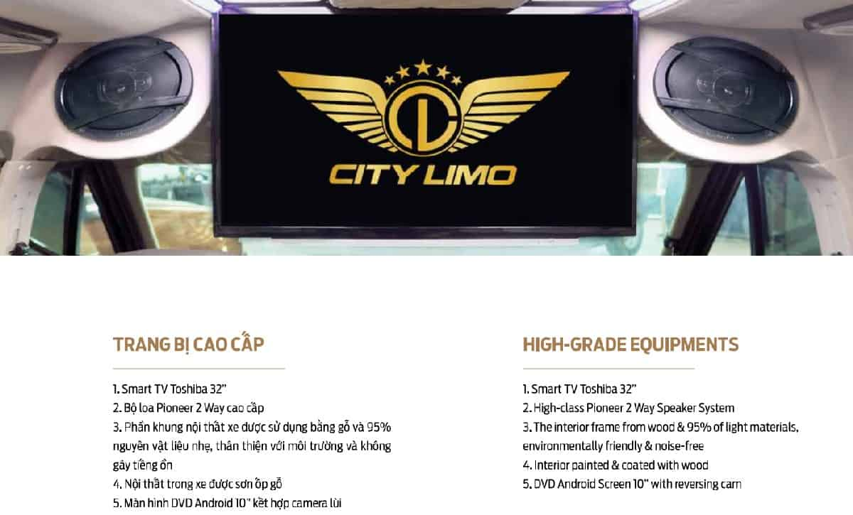 Xe Ford Transit 10 chỗ City Limousine cao cấp kèm giá bán hấp dẫn 34