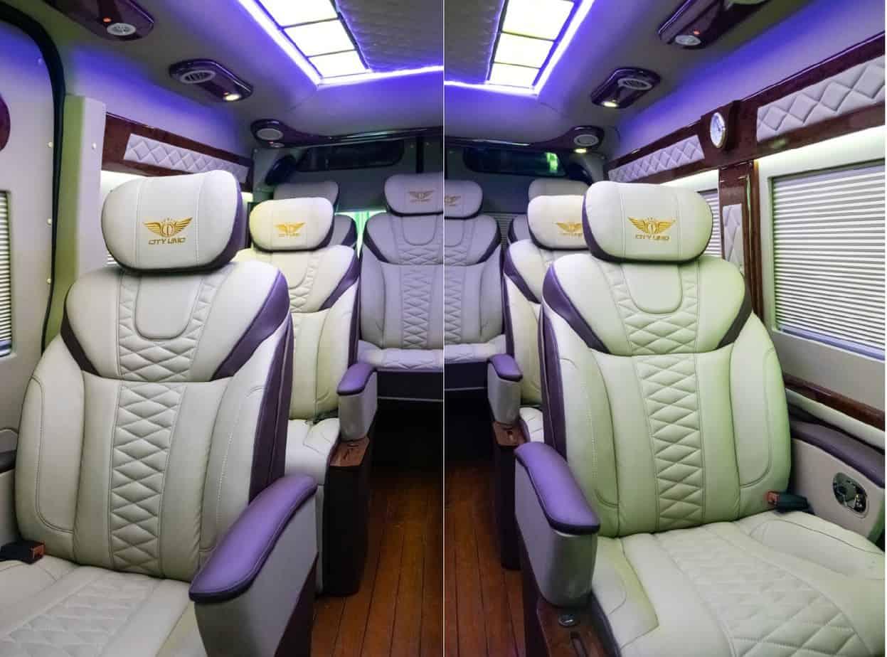 Xe Ford Transit 10 chỗ City Limousine cao cấp kèm giá bán hấp dẫn 33