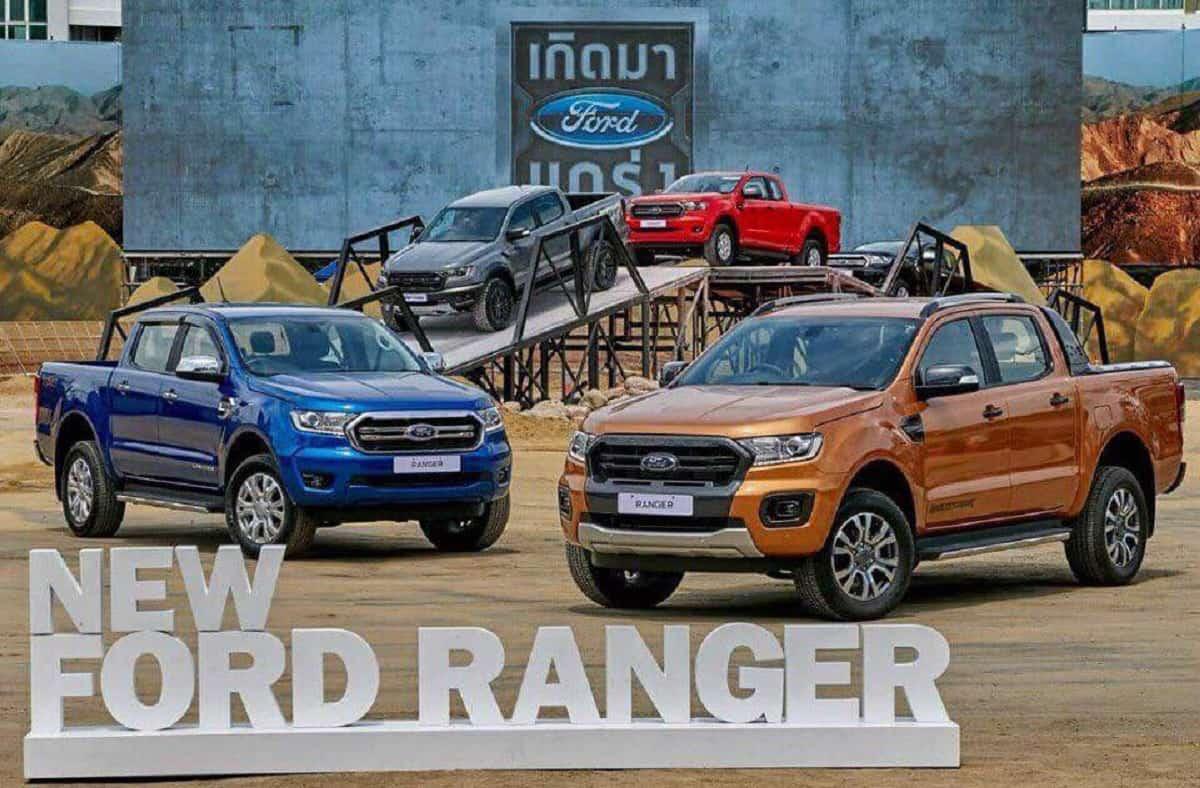 xe ford ranger 2018