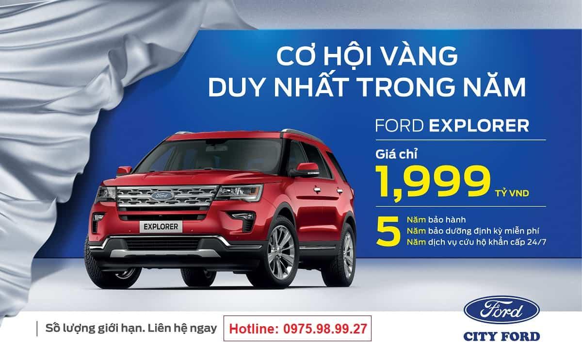 Xe Ford Explorer 2021, Ford 7 chỗ Explorer nhập Mỹ về Việt Nam giá bao nhiêu ? 5