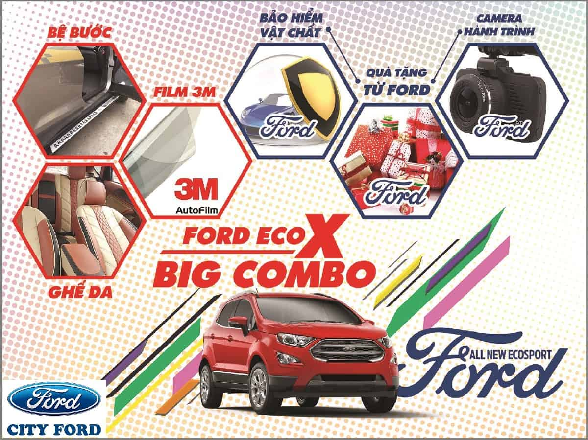 ford ecosport 2019 khuyen mai tai city ford